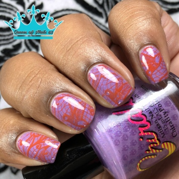 "Chirality Polish - ""Be Their Voice"" - w/ nail art"